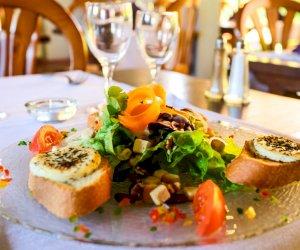 Salade de Crottin de Chavignoles